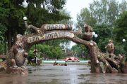 Козельский парк Три богатыря