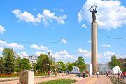 Площадь Победы в Калуге - мемориальный комплекс